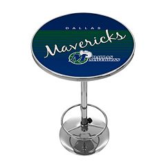 Dallas Mavericks Hardwood Classics Chrome Pub Table