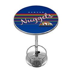Denver Nuggets Hardwood Classics Chrome Pub Table
