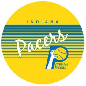 Indiana Pacers Hardwood Classics Chrome Pub Table