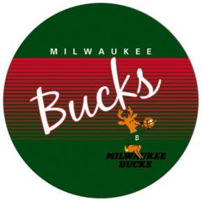 Milwaukee Bucks Hardwood Classics Chrome Pub Table
