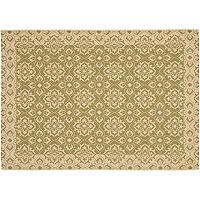 Safavieh Courtyard Floral Indoor Outdoor Rug