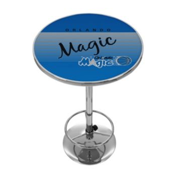 Orlando Magic Hardwood Classics Chrome Pub Table