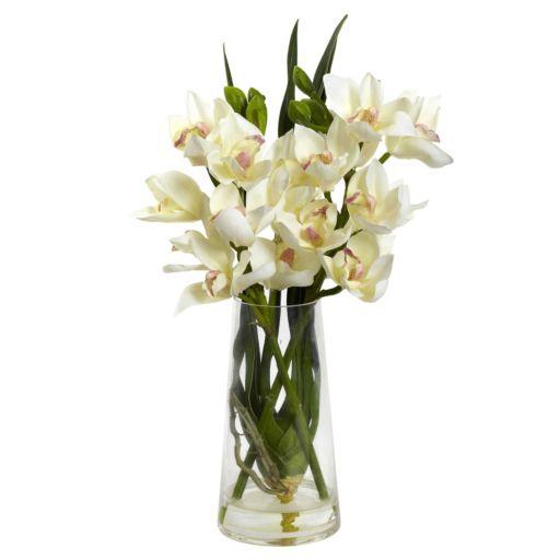 nearly natural Cymbidium Orchid Arrangement