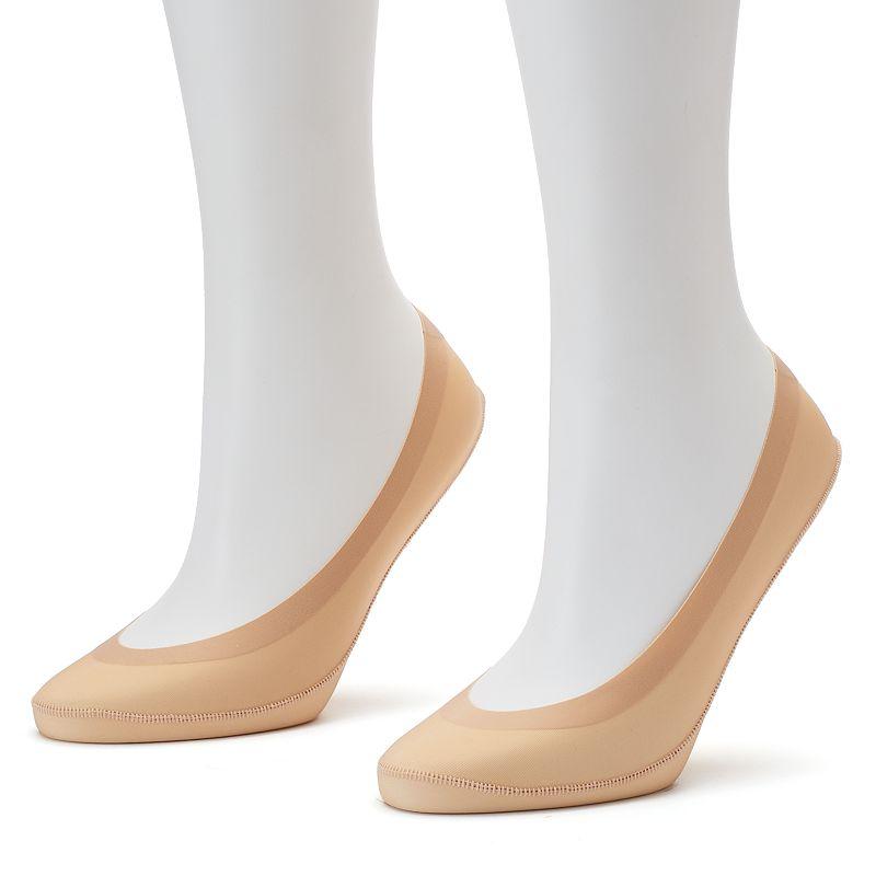 Apt. 9 2-pk. Microfiber Low-Cut Liner Socks - Women