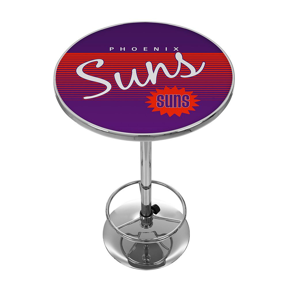 Phoenix Suns Hardwood Classics Chrome Pub Table