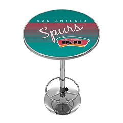 San Antonio Spurs Hardwood Classics Chrome Pub Table
