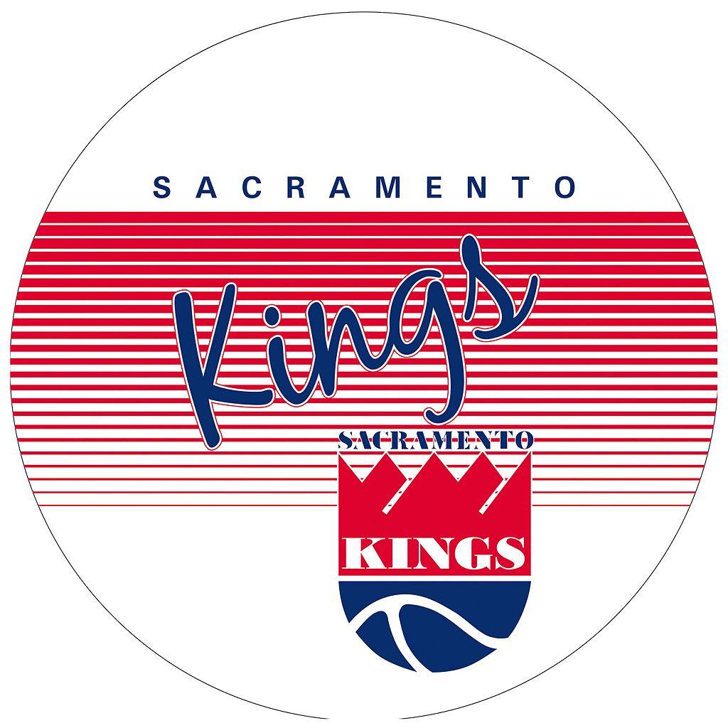 Sacramento Kings Hardwood Classics Chrome Pub Table