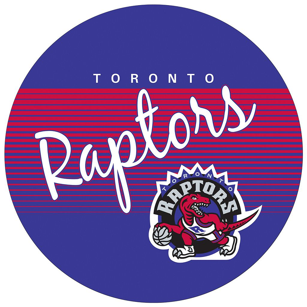 Toronto Raptors Hardwood Classics Chrome Pub Table