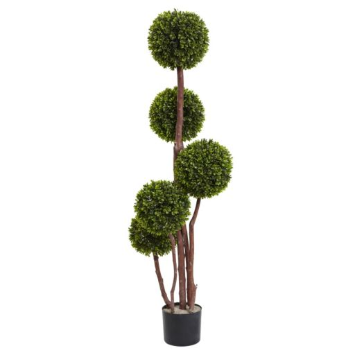 nearly natural 4-ft. Boxwood Topiary Plant