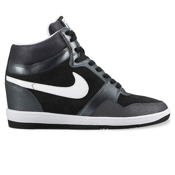 La oficina Indica Perseo  Nike Force Sky High Women's Hidden Wedge Sneakers