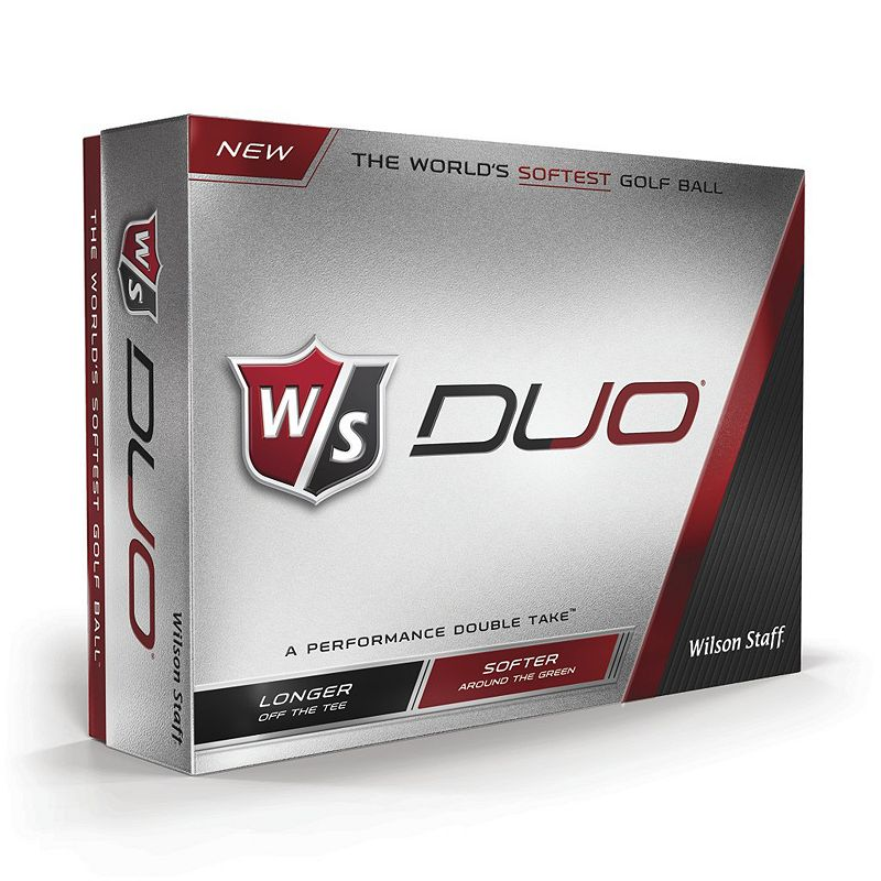 Wilson Staff Duo Golf Balls - 12-Pack