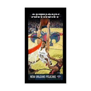 """Steiner Sports New Orleans Pelicans Anthony Davis 10"""" x 20"""" Player Profile Wall Art"""