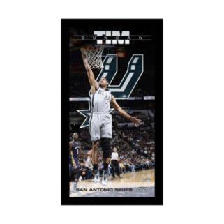 "Steiner Sports San Antonio Spurs Tim Duncan 10"" x 20"" Player Profile Wall Art"