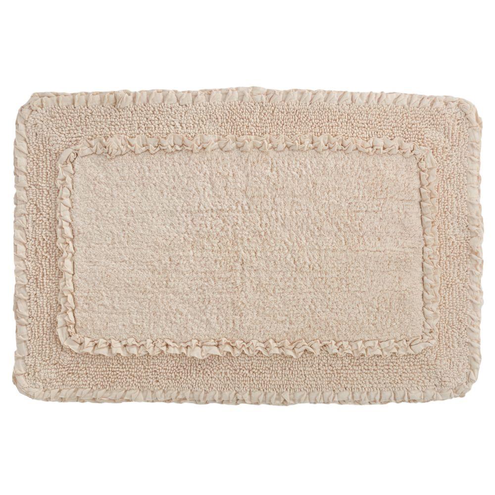 lauren conrad border bath rug - 20'' x 30''