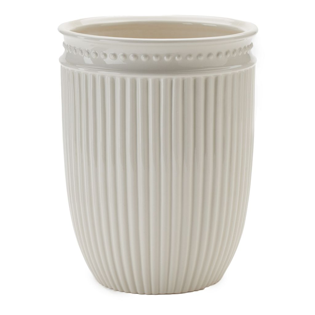 LC Lauren Conrad Ribbed Wastebasket