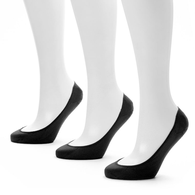 Apt. 9® 2-pk. Microfiber Extra Low-Cut Liner Socks - Women
