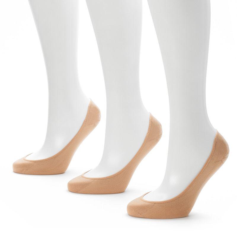 Apt. 9 2-pk. Microfiber Extra Low-Cut Liner Socks - Women