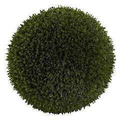 nearly natural 14-inch Cedar Ball - Indoor & Outdoor