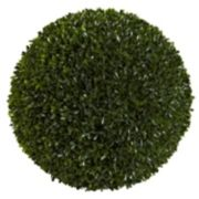 nearly natural 14-inch Boxwood Ball - Indoor & Outdoor