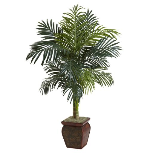 nearly natural 4-foot Cane Palm