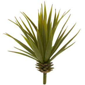 nearly natural 12-piece Mini Spiky Agave Succulent Arrangement Set