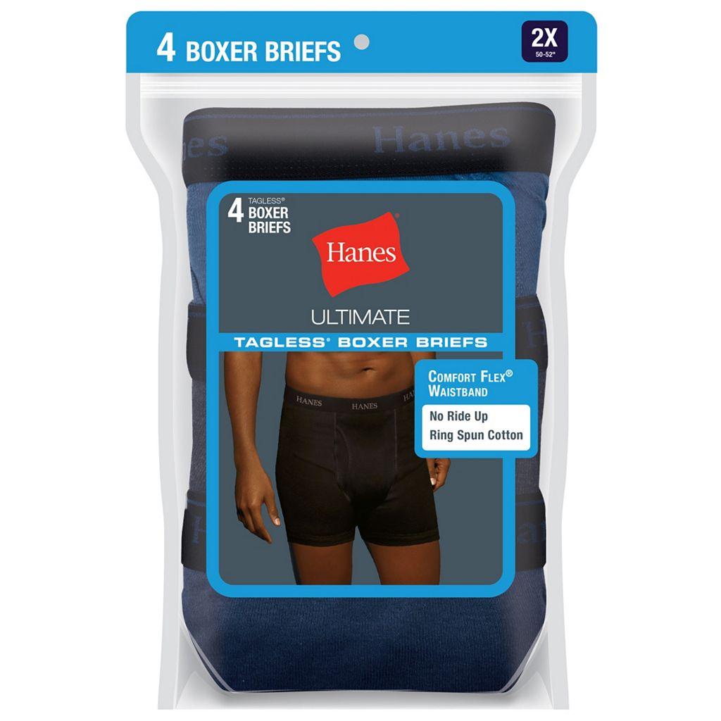 Men's Hanes Classics 4-pack Boxer Briefs