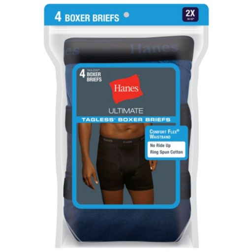 Men's Hanes Classics 4-pack Boxer Briefs
