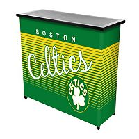 Boston Celtics Hardwood Classics 2-Shelf Portable Bar with Case
