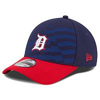 Youth New Era Detroit Tigers Stars & Stripes 4th of July 39THIRTY Stretch-Fit Cap