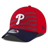 Youth New Era Philadelphia Phillies Stars & Stripes 4th of July 39THIRTY Stretch-Fit Cap