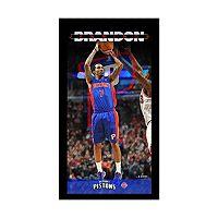 Steiner Sports Detroit Pistons Brandon Jennings 10