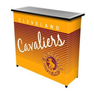Cleveland Cavaliers Hardwood Classics 2-Shelf Portable Bar with Case