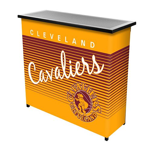 Cleveland Cavaliers Hardwood Classics 2-Shelf Portable Bar with Case