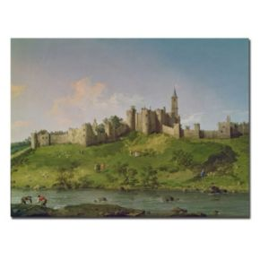 Trademark Fine Art ''Alnwick Castle'' Canvas Wall Art