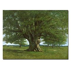 Trademark Fine Art ''The Oak of Flagey'' Canvas Wall Art
