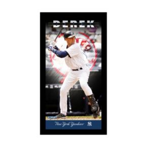 "Steiner Sports New York Yankees Derek Jeter 10"" x 20"" Player Profile Wall Art"