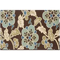 Safavieh Veranda Hawaiian Floral Indoor Outdoor Rug