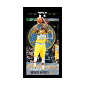 """Steiner Sports Denver Nuggets Ty Lawson 10"""" x 20"""" Player Profile Wall Art"""