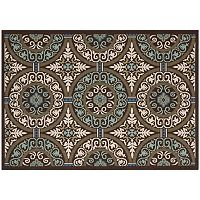 Safavieh Veranda Garden Medallion Indoor Outdoor Rug