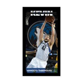 "Steiner Sports Minnesota Timberwolves Kevin Love 10"" x 20"" Player Profile Wall Art"