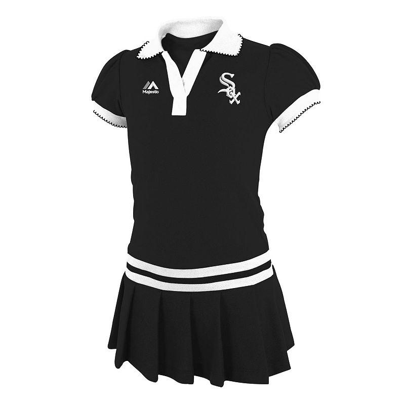 Majestic Chicago White Sox Polo Dress - Girls 4-6X