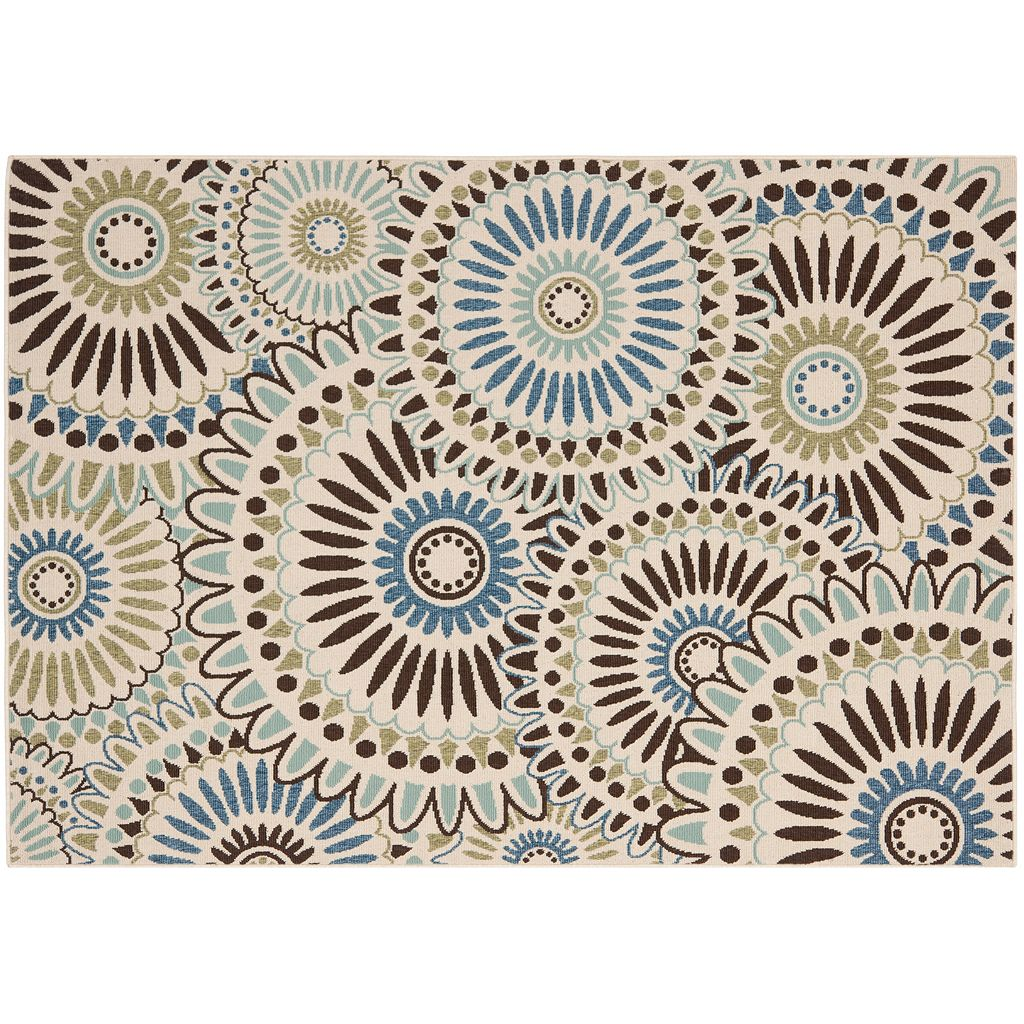 Safavieh Veranda Sunburst Indoor Outdoor Rug