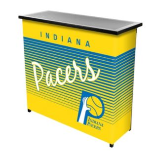 Indiana Pacers Hardwood Classics 2-Shelf Portable Bar with Case