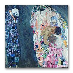 Trademark Fine Art ''Death and Life'' Canvas Wall Art