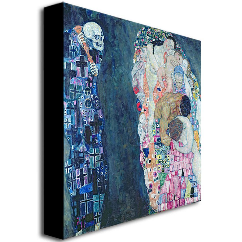 Trademark Fine Art ''Death and Life'' Canvas Wall Art