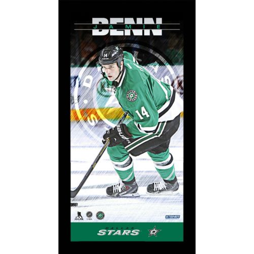 Steiner Sports Dallas Stars Jamie Benn 10 x 20 Player Profile Wall Art