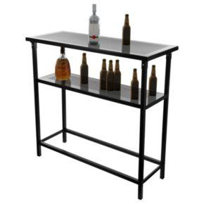 Miami Heat Hardwood Classics 2-Shelf Portable Bar with Case