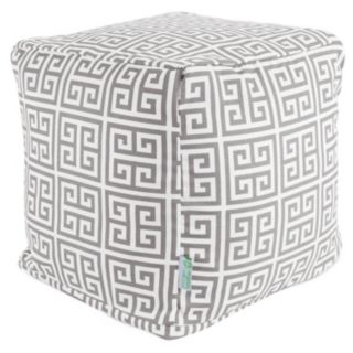 Majestic Home Goods Towers Indoor Outdoor Small Cube Ottoman