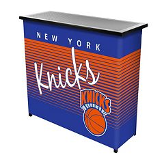 New York Knicks Hardwood Classics 2-Shelf Portable Bar with Case