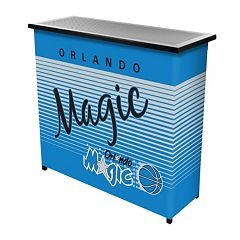 Orlando Magic Hardwood Classics 2-Shelf Portable Bar with Case